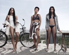 <em>Dope</em>'s Leading Ladies Hit the Beach in the July Issue of <em>InStyle</em>