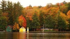 Oldforge, stato di New York in pieno foliage