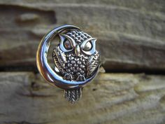 Owl ring sitting by the moon..in sterling silver by Billyrebs, $45.00  https://www.etsy.com/listing/105129459/owl-ring-sitting-by-the-moonin-sterling?ref=sr_gallery_6&ga_search_query=owl+ring&ga_ref=auto1&ga_search_type=all&ga_view_type=gallery