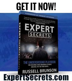 Clik the link in his bio👉  @russellbrunson Guys! Russell Brunson's New ExpertSecrets book came out!His last book sold out and was on backorder for about 2 months so make sure you pre-register to get first shot at a copy today! Clik the link in his bio👉  @russellbrunson NOW #expertsecrets  http://expertsecrets.com/