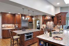 Frameless Raised Panel/Raised Molding Door Style- Home & Garden Design Ideas