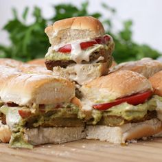 Falafel Sliders Recipe by Tasty