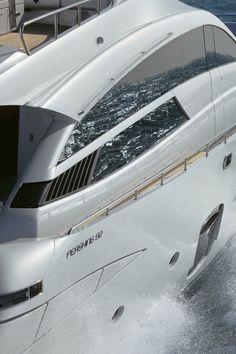 External view Pershing Yacht - Pershing 92 #yacht #luxury #ferretti #pershing
