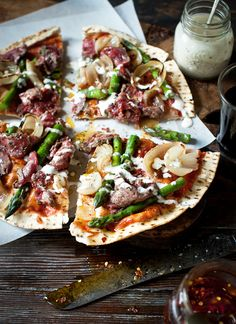 Gourmet Handmade Pizza Ideas ~ #WhatKatieAte