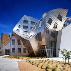 Frank Gehry - Cleveland Clinic Lou Ruvo Center for Brain Health in Las Vegas #architecture
