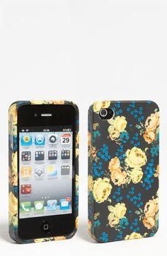 Design Lab 'Matte Floral' iPhone 4 & 4S Case   Nordstrom