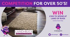 This week we've teamed up with Land of Rugs to offer one lucky reader the chance to win £100 to spend online.