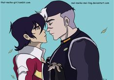 It took me 3 days to make this in a non animation program lol sheith keith x shiro