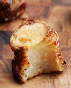 Garlic Parmesan Potato Stackers