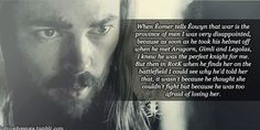lotrconfessions:  In the extended version of the LoTR movies, when Éomer tells Éowyn that war is the province of men I was very disappointed, because as soon as he took his helmet off when he met Aragorn, Gimli and Legolas, I knew he was the perfect knight for me. But then in RotK when he finds her on the battlefield I could see why he'd told her that, it wasn't because he thought she couldn't fight but because he was too afraid of losing her.