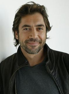 Javier Bardom..I love him and Penelope Cruz, I shall place him in my Beautiful Places board. :)
