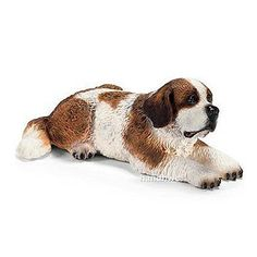 Schleich 16380 Saint Bernard Dog Female Model Animal Figurinetoy NIP | eBay