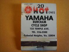 Vintage-1968-Yamaha-DT1-Enduro-Matchbook-advertizing-memorabilia-68-exciters-dt