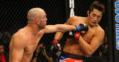 Sul-coreano Dong Hyun Kim é atingido por Sean Pierson, mas vence no UFC 141
