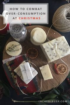 Not your usual 'gift guide' - thoughts on over consumption at Christmas.