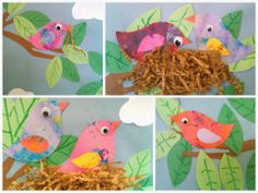 DIY: Spring Bird Nest Craft
