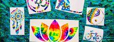 Boho Car Decals, Hippie Car Stickers, Car Stickers for Hippies, Lotus Sticker, Dream Catcher, Decals for Women, Hippie Stickers, Hippie Decals. Tie Dye Stickers.