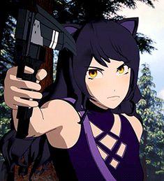 Blake looks so much better and more combat ready without her jacket Fanart Rwby, Rwby Anime, Rwby Blake, Rwby Volume 1, Rose Tumblr, Rwby Bumblebee, Rwby Memes, Rwby Characters, Rwby Comic