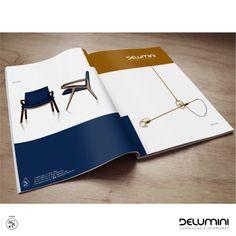 Arte de anúncio minimalista pra Delumini Itapema.