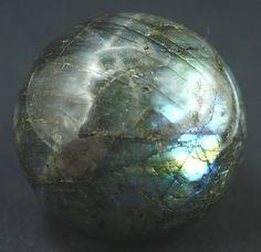 Polished Labradorite Sphere Madagascar  Mineral by BandLMinerals