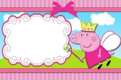 How to Create Peppa Pig Party Invitations Designs smart design for 1000 images about peppa p. - Tips for Choosing Peppa Pig Party Invitations Designs Peppa Pig Birthday Invitations, Birthday Banner Template, Happy Birthday Banners, Party Invitations, Invites, Party Favors, Peppa Pig Background, Invitacion Peppa Pig, Peppa Pig Wallpaper