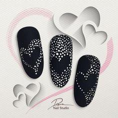 Pin by Nagelstudio Eggesin on Muster Beautiful Nail Art, Gorgeous Nails, Diy Nails, Manicure, Henna Nails, Nagellack Design, Nail Drawing, Nagel Bling, Yellow Nail Art