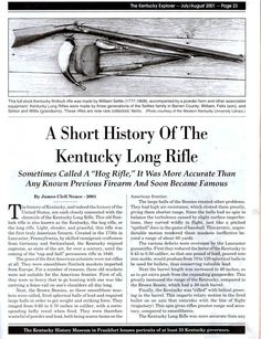 Kentucky Long Rifle