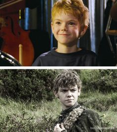 It's easy to forget that the characters in Game of Thrones are actually actors, many of whom have appeared in numerous other productions. Maze Runner Thomas, Maze Runner Cast, Maze Runner Series, Thomas Brodie Sangster, Actors Then And Now, Young Movie, Nowhere Boy, Game Of Throne Actors, Game Of Thrones Cast