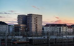 Slussplan // White // Malmö