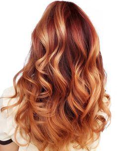 Dark Strawberry Blonde Hair, Reddish Blonde Hair, Strawberry Blonde Highlights, Hair Highlights, Blonde Shades, Red Balayage Hair, Golden Blonde Highlights, Blonde Hair With Copper Lowlights, Strawberry Hair Color