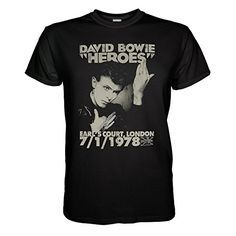 King of Merch - Herren T-Shirt - David Bowie Heroes Earls Court Ziggy Stardust Idiot Lust for Life Ashes to Ashes Mike Garson Lou Reed Bob Dylan Iggy Pop The Velvet Underground Andy Warhol Schwarz S King http://www.amazon.de/dp/B01BKHBABE/ref=cm_sw_r_pi_dp_A42Vwb0VQD6TA
