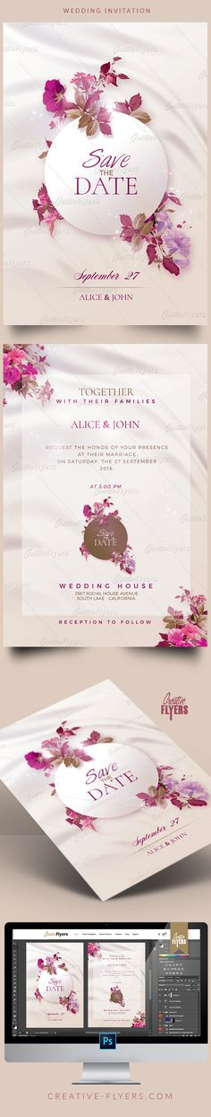 ideas wedding invitations templates events for 2019