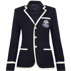 RALPH LAUREN Wimbledon Uniform Blazer ($915) ❤ liked on Polyvore