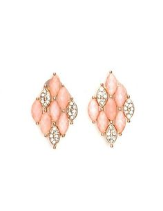Fly a Kite Diamond Earrings: Charlotte Russe
