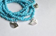 turquoise layered bracelet