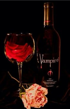 Vampire Wine. I read about this wine a while ago, but haven't yet had the chance to buy some.