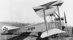 Aviatik B.II two-seat reconnaissance biplane. Serial number: B.558/15. GERMAN AIRCRAFT OF THE FIRST WORLD WAR