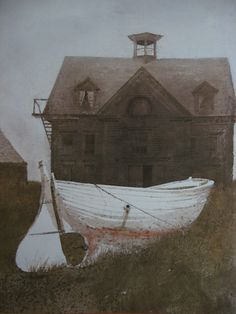 Liberty Launch, 1983, Andrew Wyeth