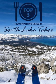 Mouthwater meals in South Lake Tahoe, yum! Reno Tahoe, Us Travel Destinations, South Lake Tahoe, Travel Activities, United States Travel, Travel Goals, Vacation Spots, Travel Usa, Places To See