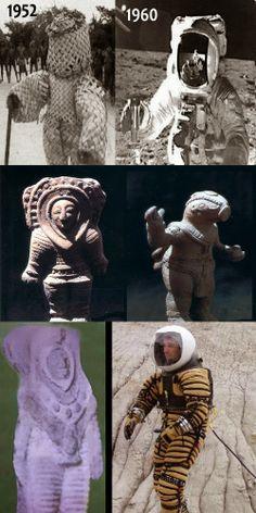Bep Kororoti, um deus astronauta  Erich Von Daniken