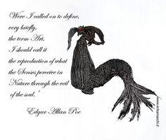 """Quote Edgar Allan Poe  """"Se fossi chiamato a definire, molto brevemente, il termine Arte, dovrei chiamarla la riproduzione di ciò che i sensi percepiscono in natura attraverso il velo dell'anima ."""" My artwork on the ground Oil and Acrylic on paper https://www.facebook.com/erikamarchipainter www.erikamarchi.it #madeinitaly #art #mood #poe #edgarallanpoe #style #minimal #artist #artmadeinitaly #minimale #blackandwhite #erikamarchi #italy #minimalart #bw #abstract #sign"""