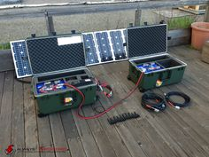 ULTIMATE Tactical Solar Power Generator Kit