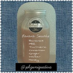 """""""Banana Smoothie is a delicious way to boost your energy. Try this and let us know what you think.  #vegan #rawfood #instahealth #instabeauty…"""""""
