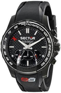 Sector Men's R3271677001 Analog Display Quartz Black Watch