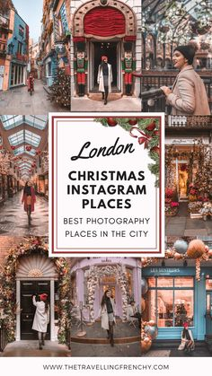 holiday places Top Christmas Spots in London. Best Christmas Markets, Christmas Travel, Christmas Uk, Christmas In London, Europe Christmas, Christmas In England, Christmas Vacation, Holiday Travel, Europe Destinations