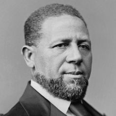 From Bio.com:  Hiram Rhodes Revels was born on September 27, 1827, in Fayetteville, North Carolina. Revels was a minister who in 1870 became the first African-American United States senator, representing the state of Mississippi. He served for a year before leaving to become the president of a historically black college. Revels died on January 16, 1901, in Aberdeen, Mississippi.