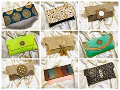 Craftstages International Presents  Latest collection of Evening Clutch Bags for party, beach or any other occasion.  For bulk orders and queries please Call/WhatsApp at +91-9625587736, +91-8130018901, +91-9911976001 or email us at craftstagesinternational@gmail.com Clutch Bags, Sunglasses Case, Presents, Beach, Party, Collection, Gifts, The Beach, Clutch Purse