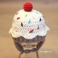 Crochet Cupcake Hat - Free pattern!
