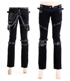 I found '*FREE SHIPPING* Visual Kei Rock Goth Kera Rock Punk rave Pants Trousers S-2XL' on Wish, check it out!