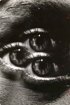 JEANLOUP SIEFF «Triple Eye» 1972